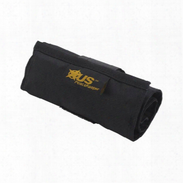 Us Peacekeeper Small Punch Roll, Black - Black - Unisex - Included