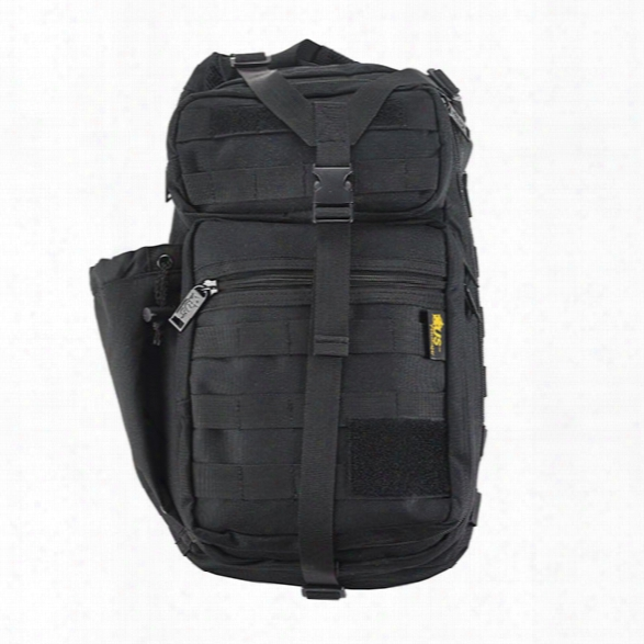 Us Peacekeeper Stryker Sling Pack, Black - Black - Male - Included