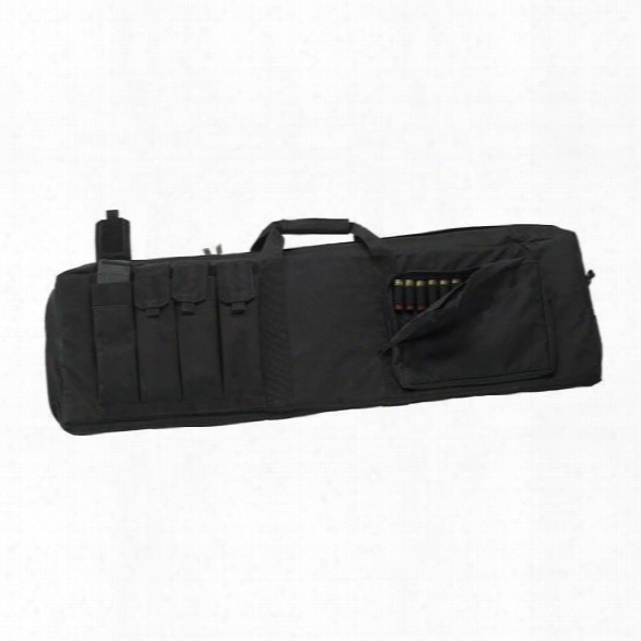 Us Peacekeeper Tactical Combina Tion Case, Black - Black - Unisex - Included