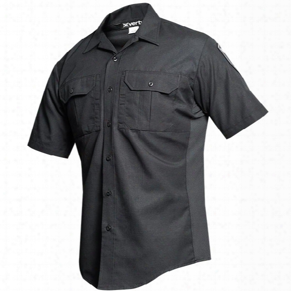 Vertx Phantom Lt Short Sleeve Shirt, Black, 2x-large - Black - Male - Included