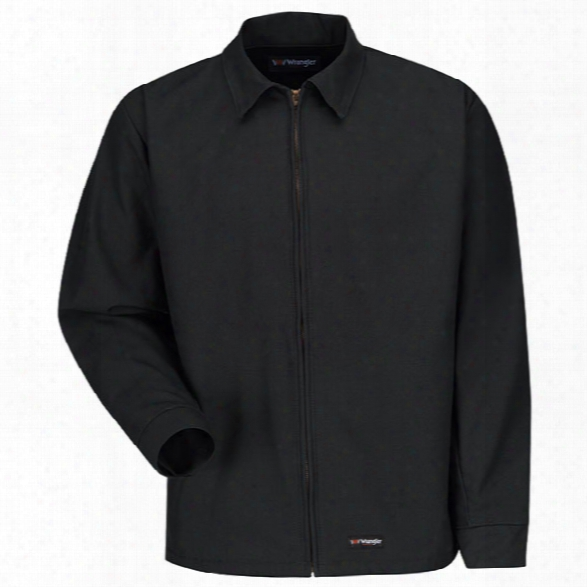 Wrangler Workwear Jacket, Black, 2x-large Long - Black - Male - Included
