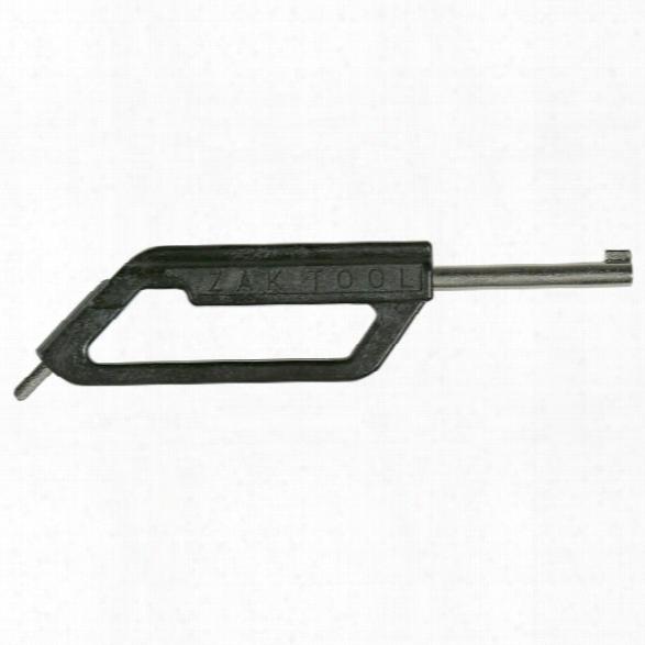 Zak Tool Ergonomic Flat Grip Handcuff Key, Carbon Fiber, Black - Black - Unisex - Included
